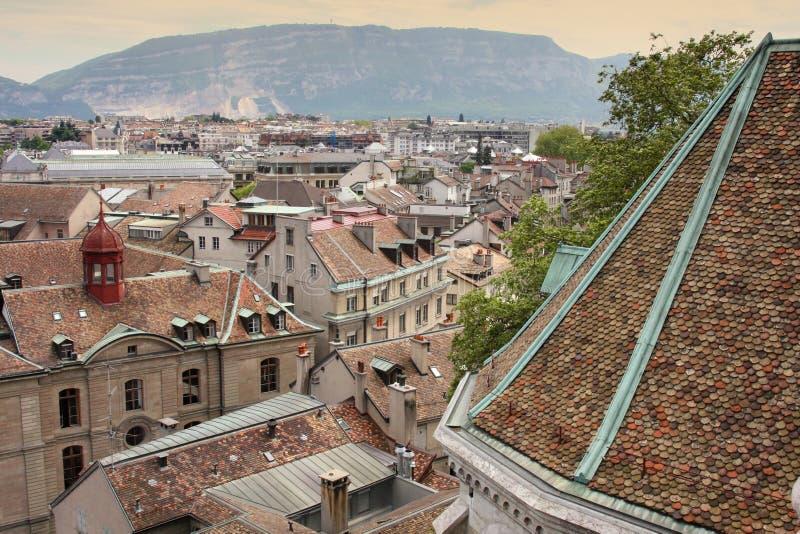 Genebra, Switzerland imagem de stock