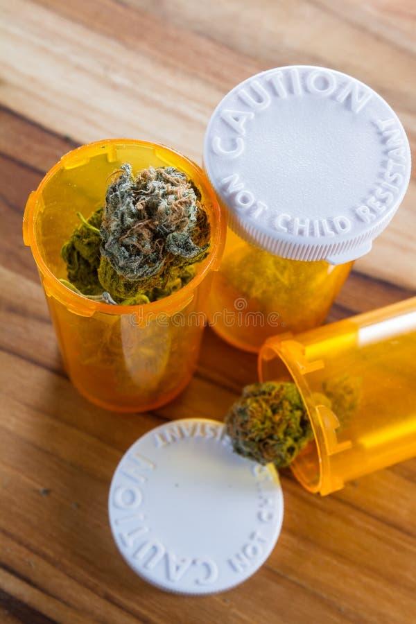 Geneeskrachtige Cannabis of Marihuana royalty-vrije stock foto's