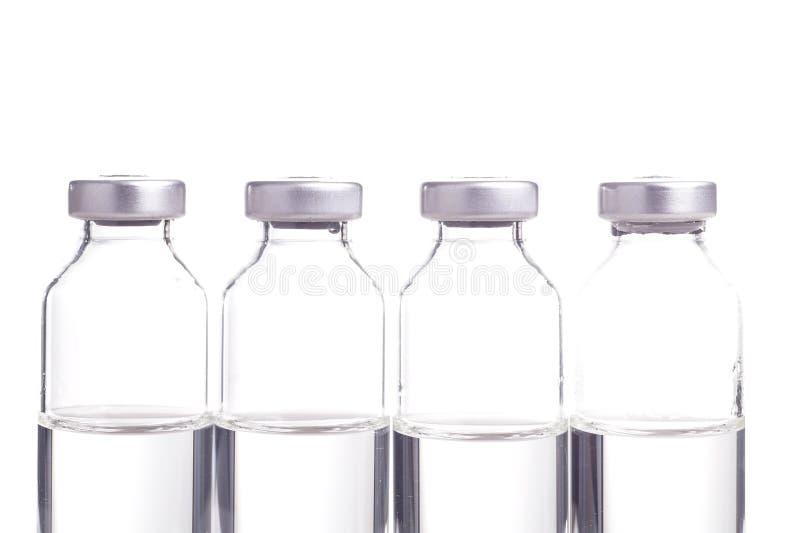 Geneeskunde in Flesjes royalty-vrije stock foto