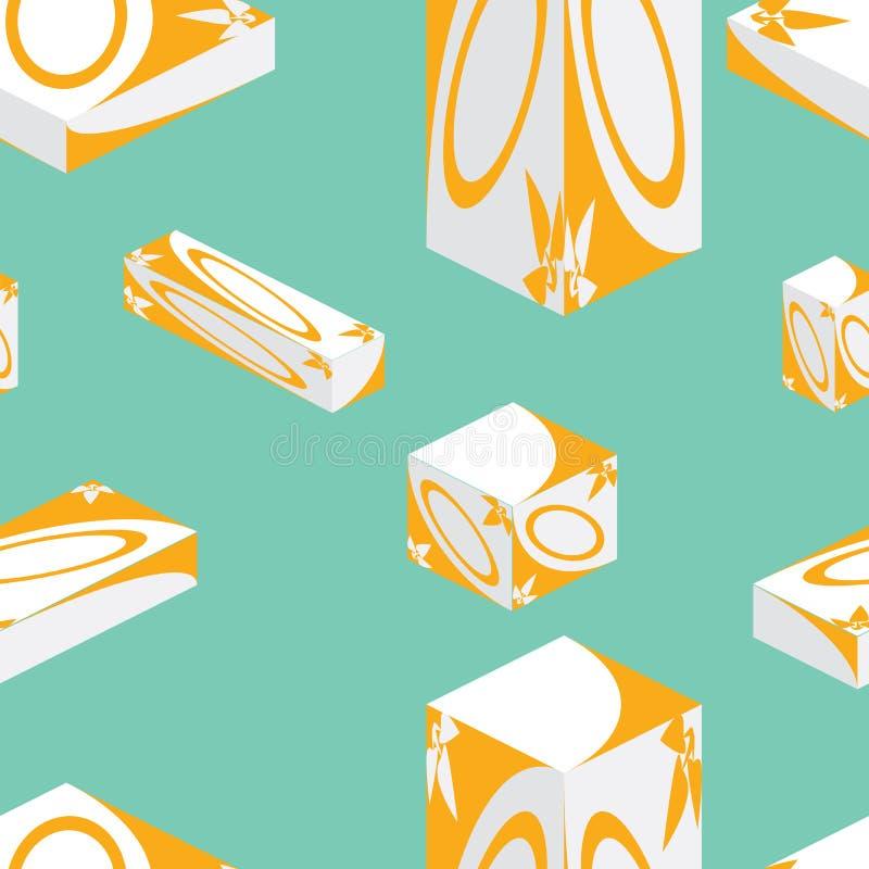 Geneeskunde naadloze verpakking stock illustratie