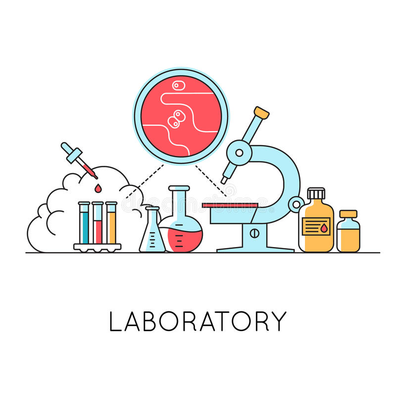 Geneeskundeachtergrond met het hart, drugs, medisch materiaal vector illustratie