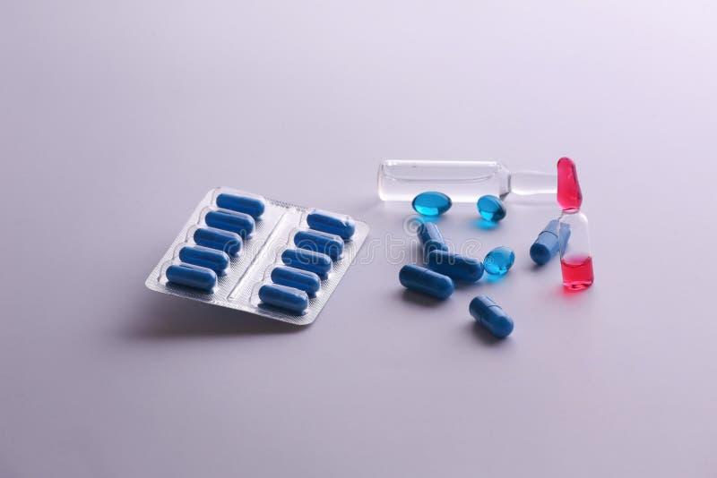 Geneeskundedrugs Medische voorbereidingen, gezondheid royalty-vrije stock afbeeldingen