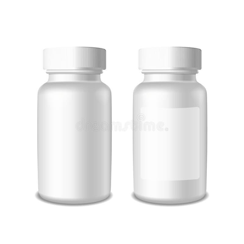 Geneesmiddel en geneeskunde stock illustratie