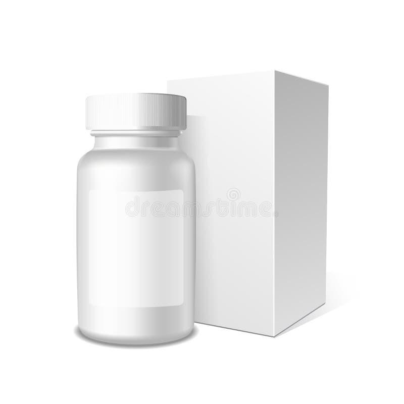 Geneesmiddel, Geneeskundevector stock illustratie