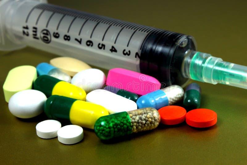 Geneesmiddelen Royalty-vrije Stock Afbeelding