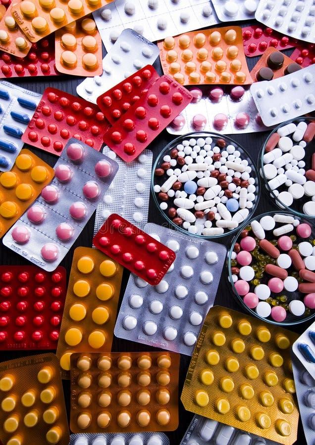 Geneesmiddelen royalty-vrije stock foto's