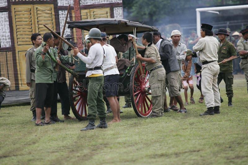 Generał Soedirman Kolosalny zdjęcie royalty free
