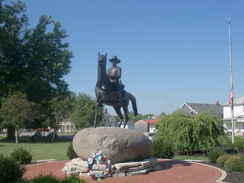 Generała Dywizji Rosecrans statua zdjęcie stock