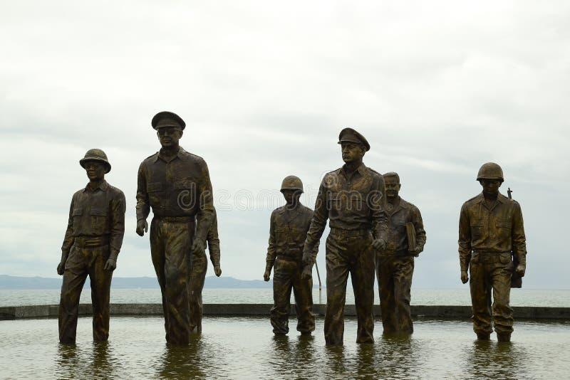 Download Generała McArthur ` S Statua Fotografia Editorial - Obraz złożonej z japo, wartime: 106908277