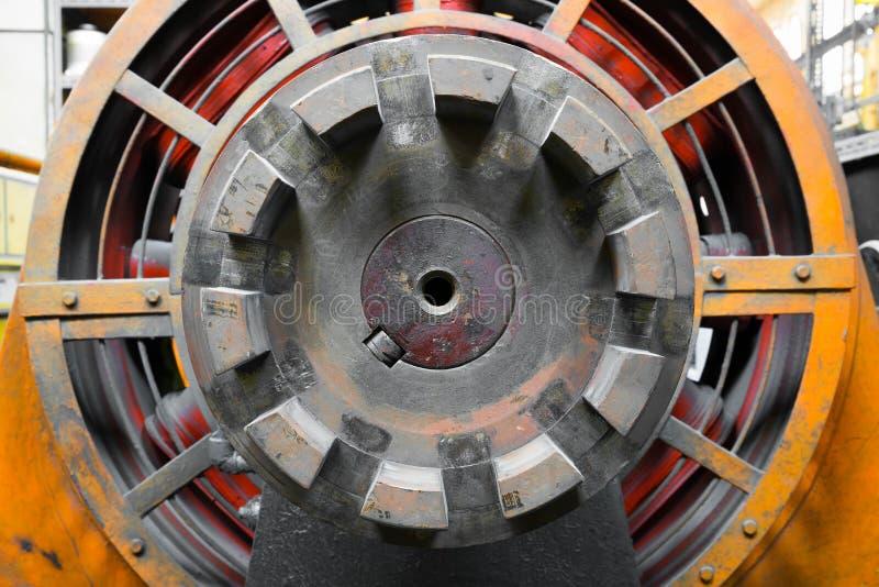 Generador de la energía eléctrica imágenes de archivo libres de regalías