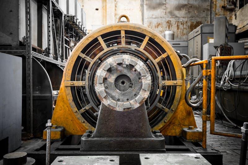 Generador de la energía eléctrica foto de archivo