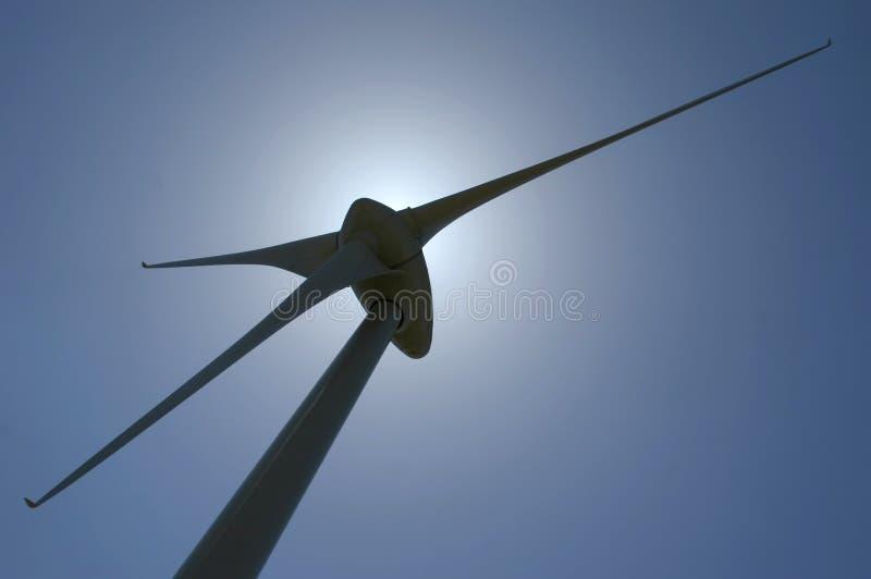 Generador de potencia del molino de viento imagen de archivo libre de regalías