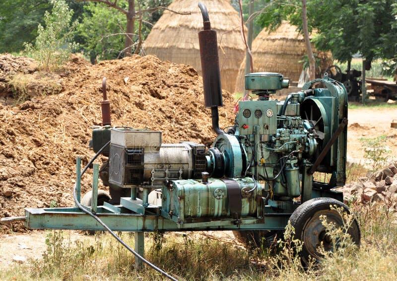 Generador diesel foto de archivo libre de regalías