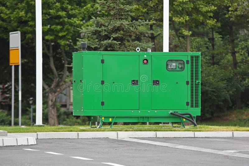 Generador eléctrico imágenes de archivo libres de regalías