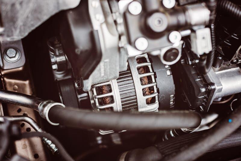 Generador para el coche fotografía de archivo libre de regalías