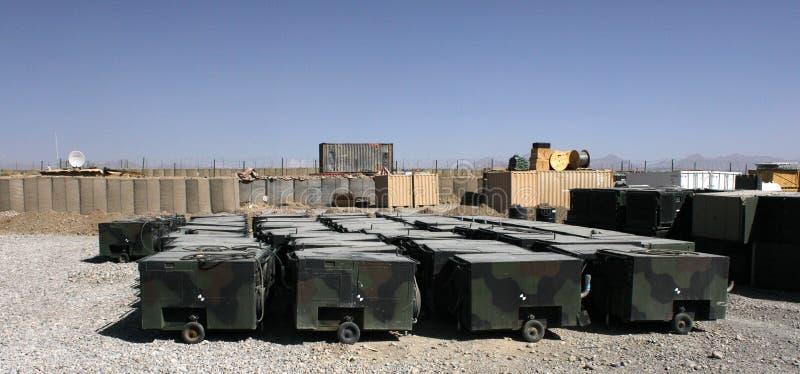 Generadores militares II imagen de archivo