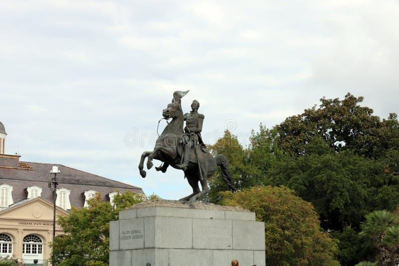 General Andrew Jackson de New Orleans foto de archivo libre de regalías