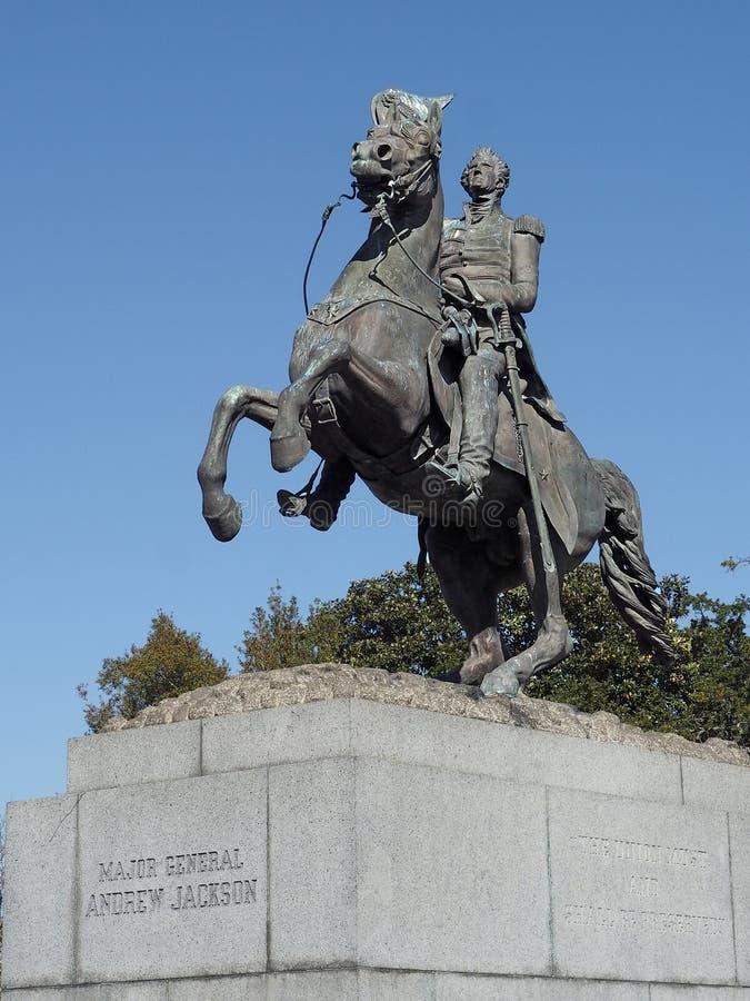 General Andrew Jackson Statue imagen de archivo