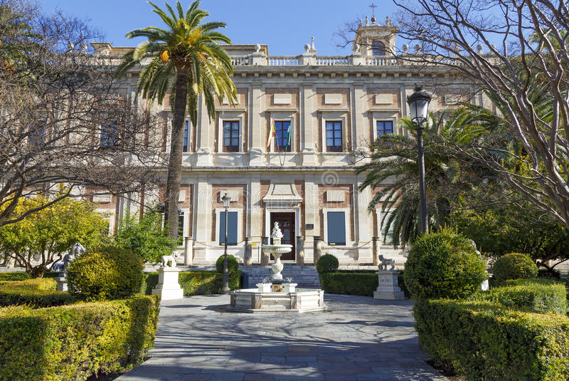 General Archive Of The Indies, Sevilla Royalty Free Stock Photos
