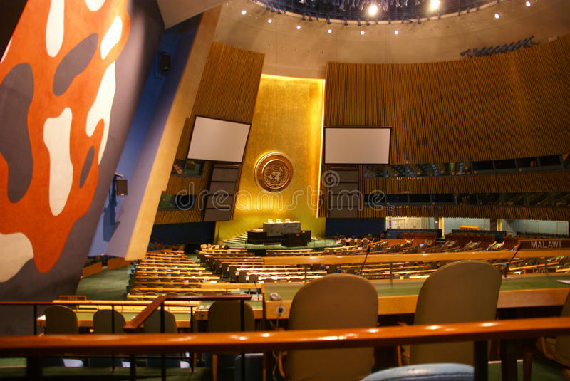 Download General Assembly Chamber Stock Image - Image: 10855261