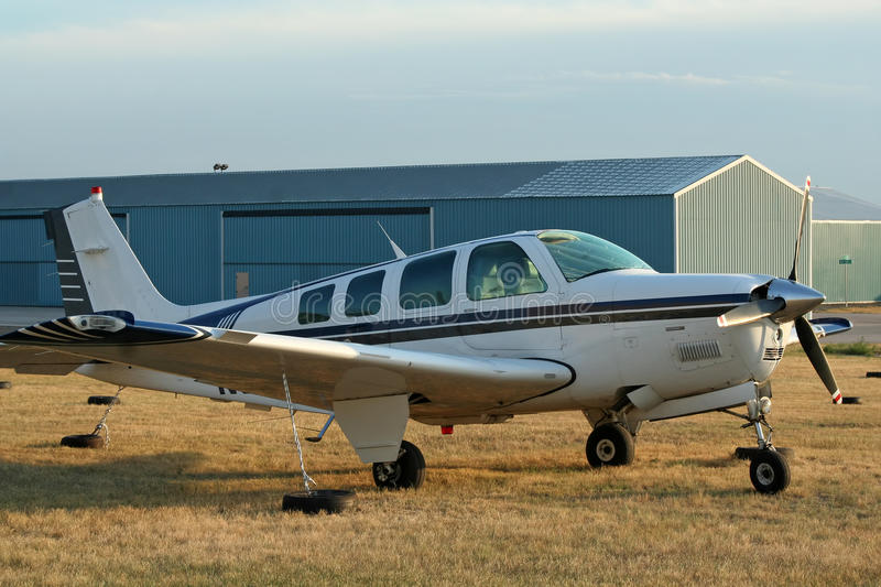 General Aviation Airport Stock Photo