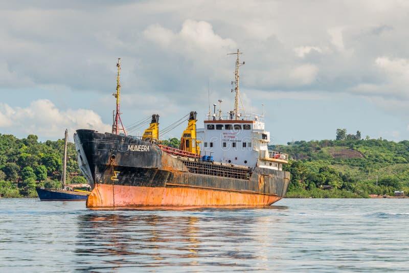 General Cargo Ship royalty free stock photos