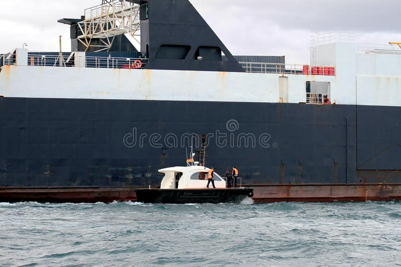 Download General cargo ship stock photo. Image of rescue, liner - 29901318