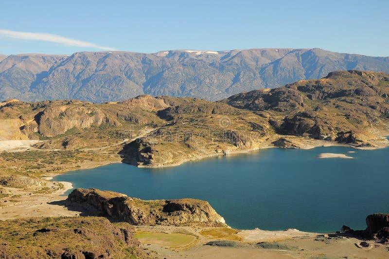 Download General Carrera lake. stock photo. Image of emerald, height - 31660362