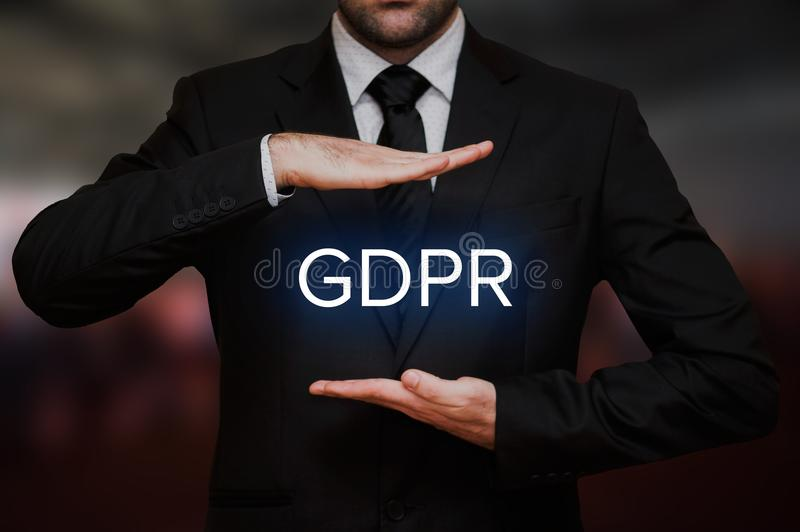 General Data Protection Regulation GDPR stock photos