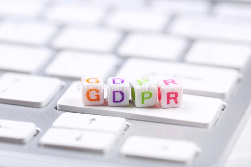 General Data Protection Regulation stock images