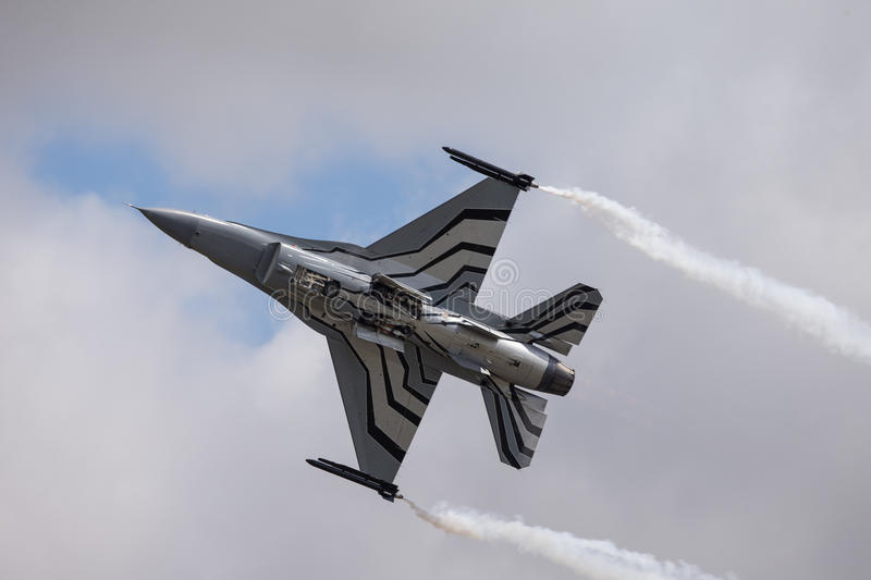 General Dynamics F-16 Fighting Falcon stock photography