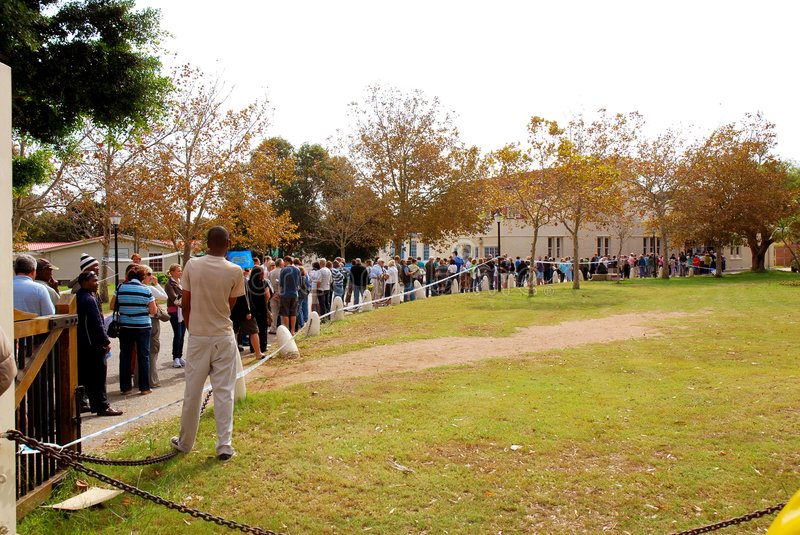 General elections South Africa 2009 royalty free stock photos