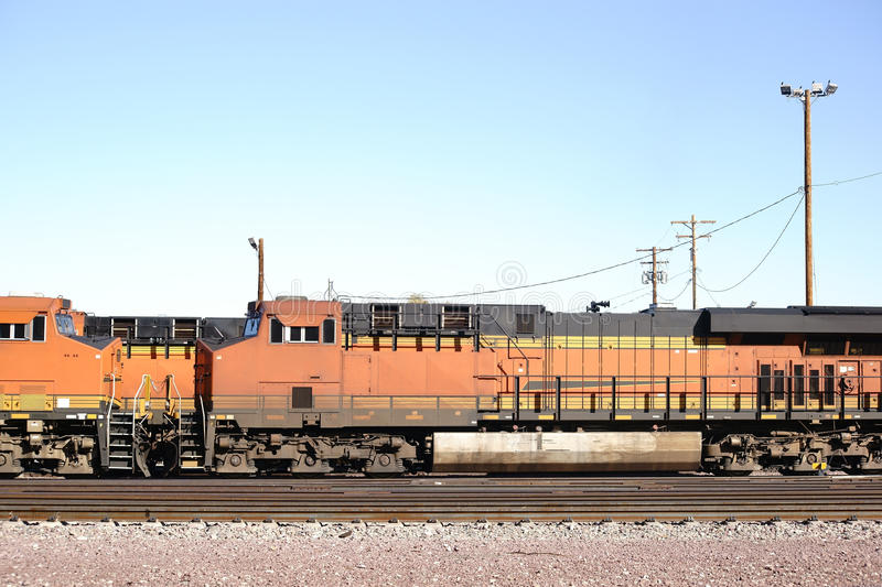 General Electric Ciska 9 lokomotywę fotografia stock