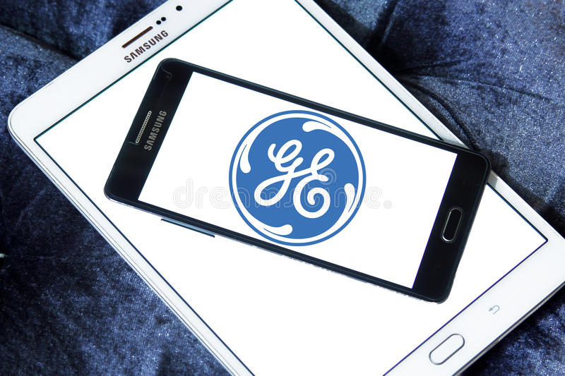 General electric logo stock photography