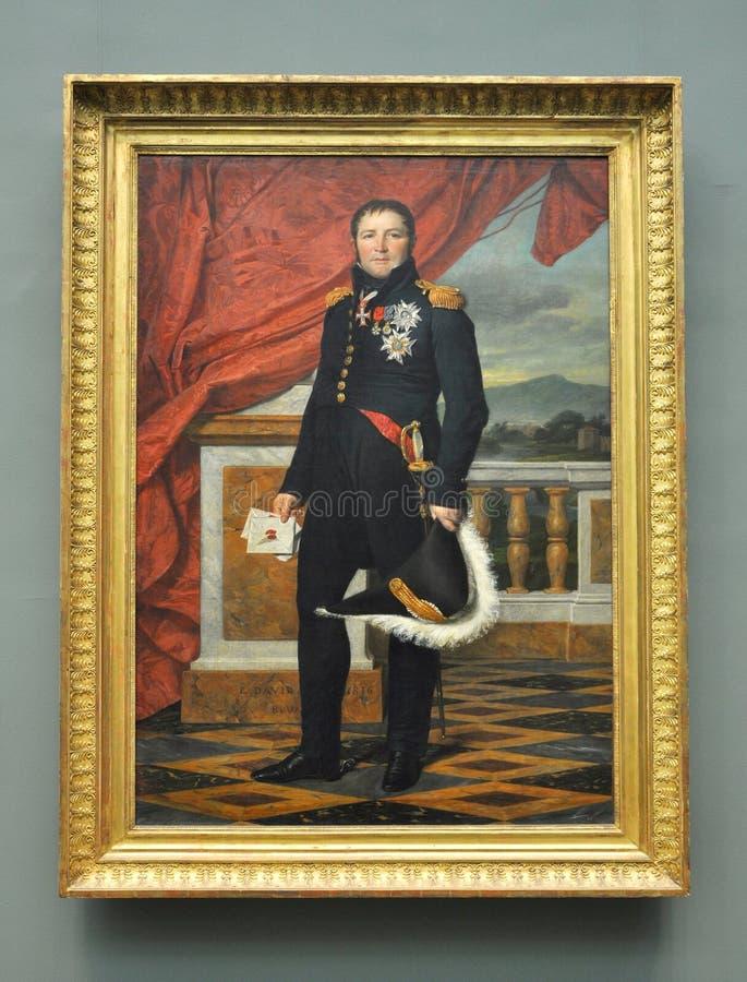 General Etienne Maurice Gerard, durch David lizenzfreies stockfoto