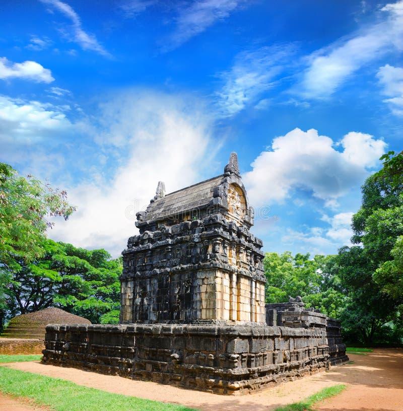 General form of Nalanda Gedige stock photos