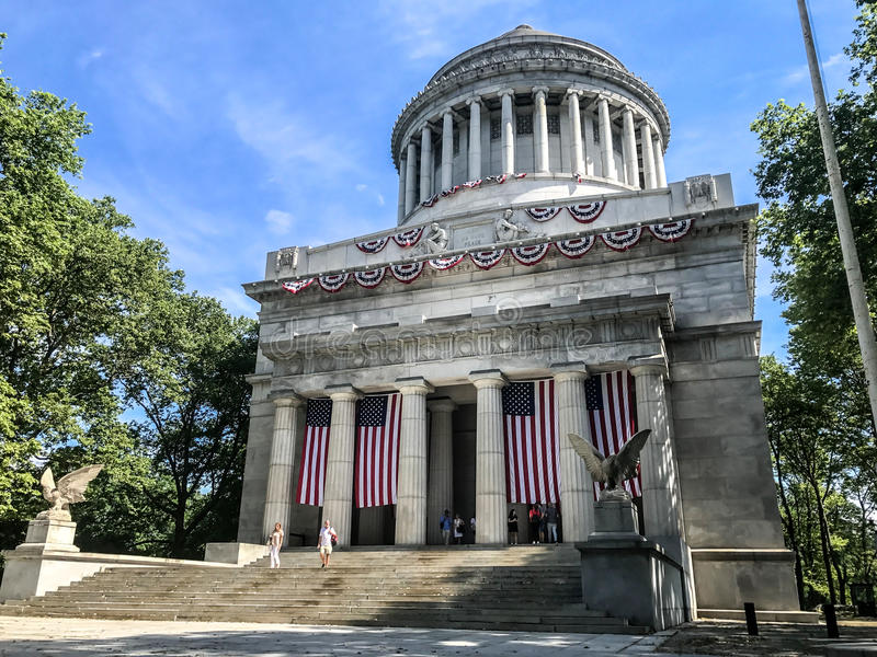 General Grant Memorial arkivbilder
