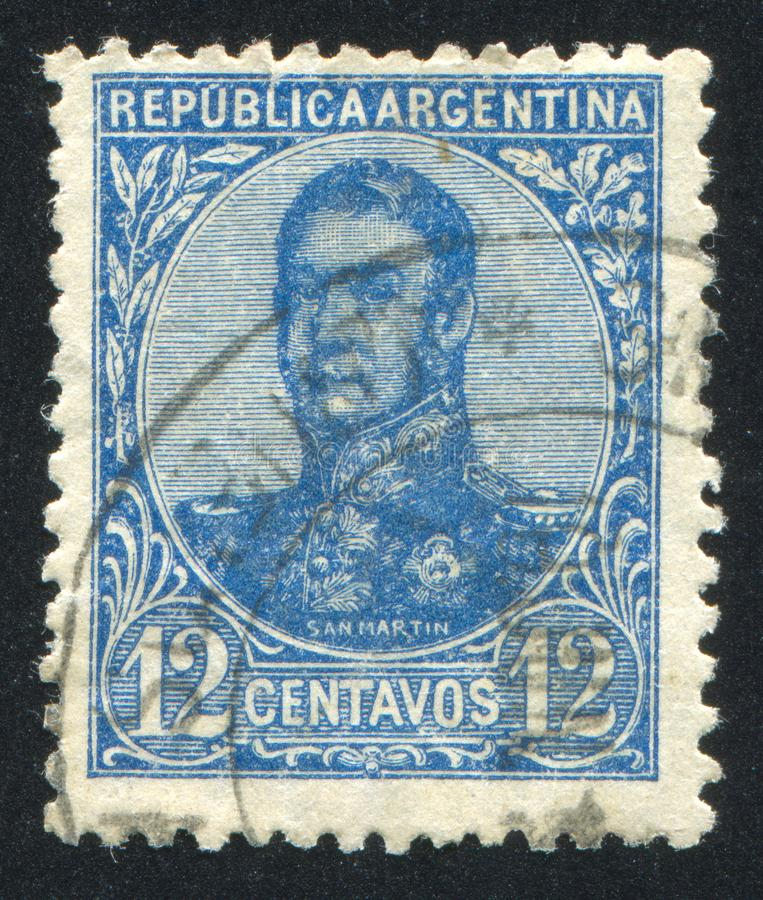 General Jose de San Martin fotos de archivo