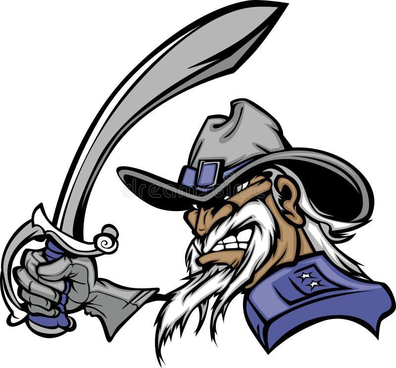 General Mascot Logo Stock Images
