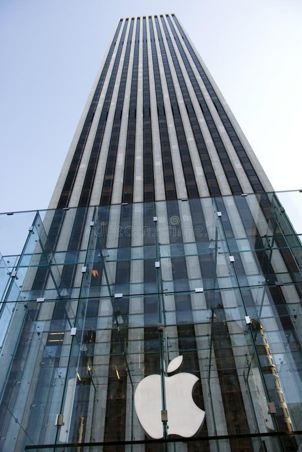 General Motors Building - New York royalty free stock photos