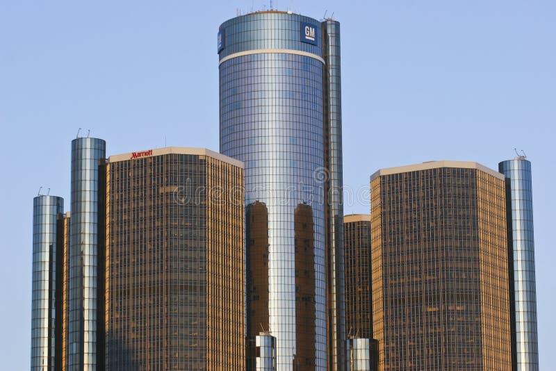General Motors-Hoofdkwartier stock fotografie