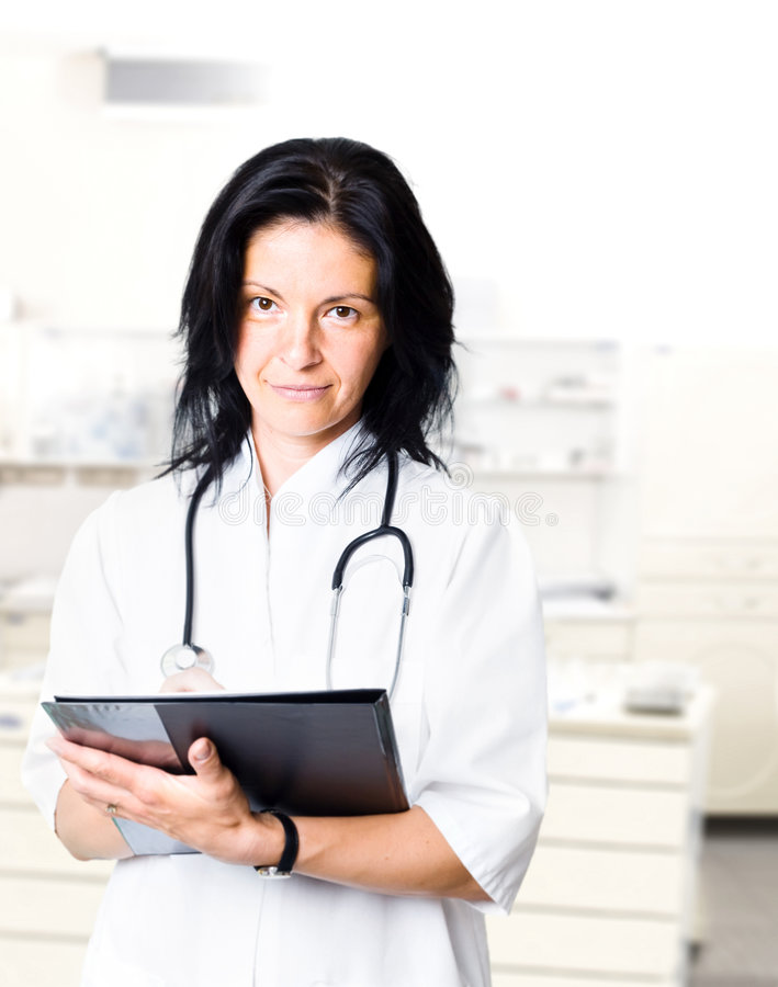 General Practitioner stock image