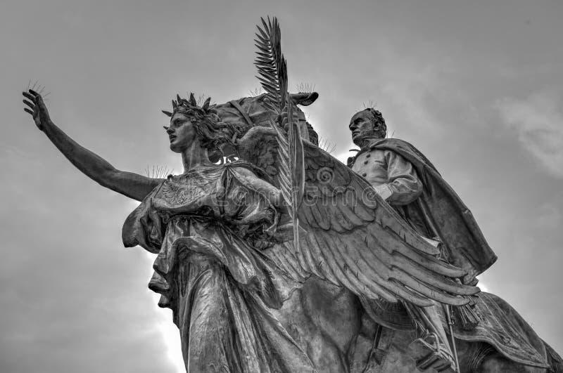 General Sherman Monument - New York City stockfotografie