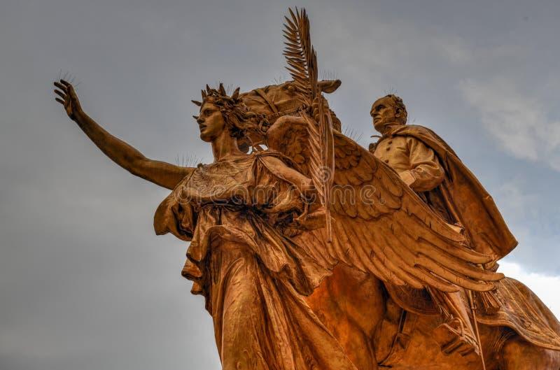 General Sherman Monument - New York City lizenzfreies stockfoto
