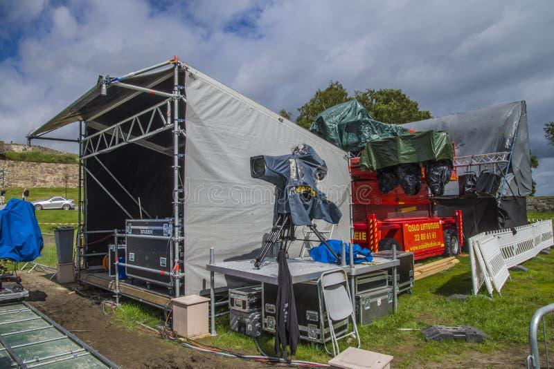 Download General Singalong At The Border, Television Camera Editorial Photography - Image: 32043157