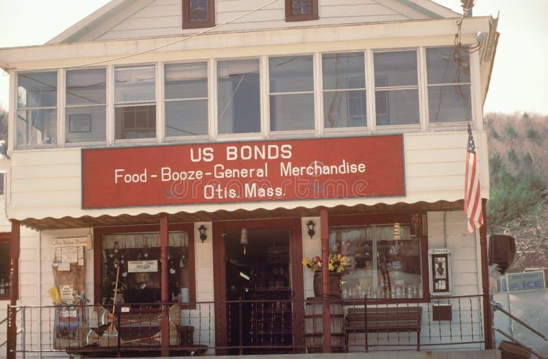 General store, Otis, MA royalty free stock photos