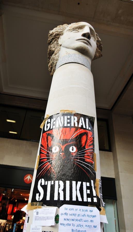 General Strike Editorial Stock Photo