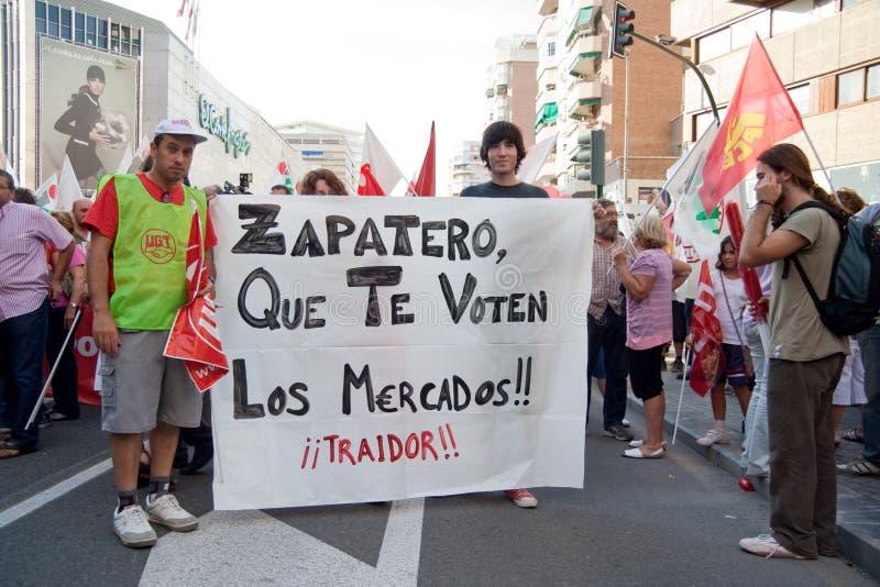 Download General Strike In Spain Editorial Image - Image: 16269250