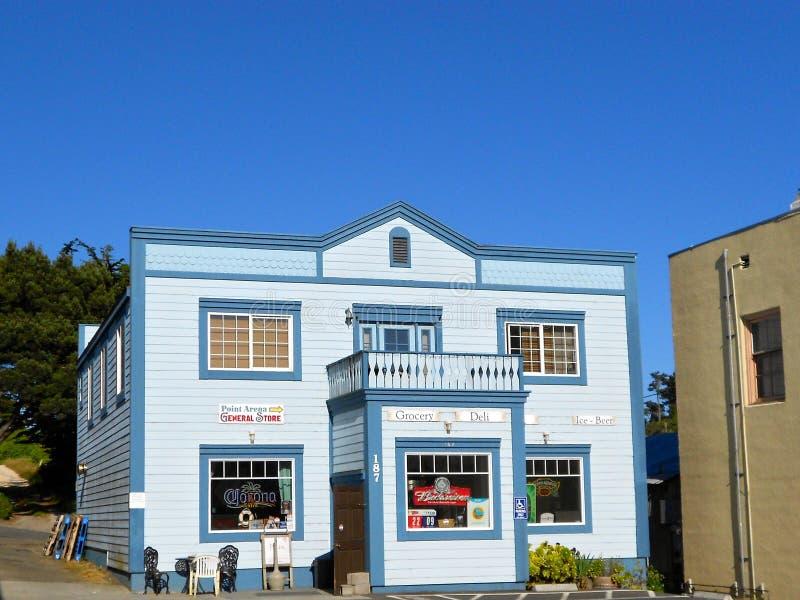 General tienda de la arena del punto en California imagenes de archivo