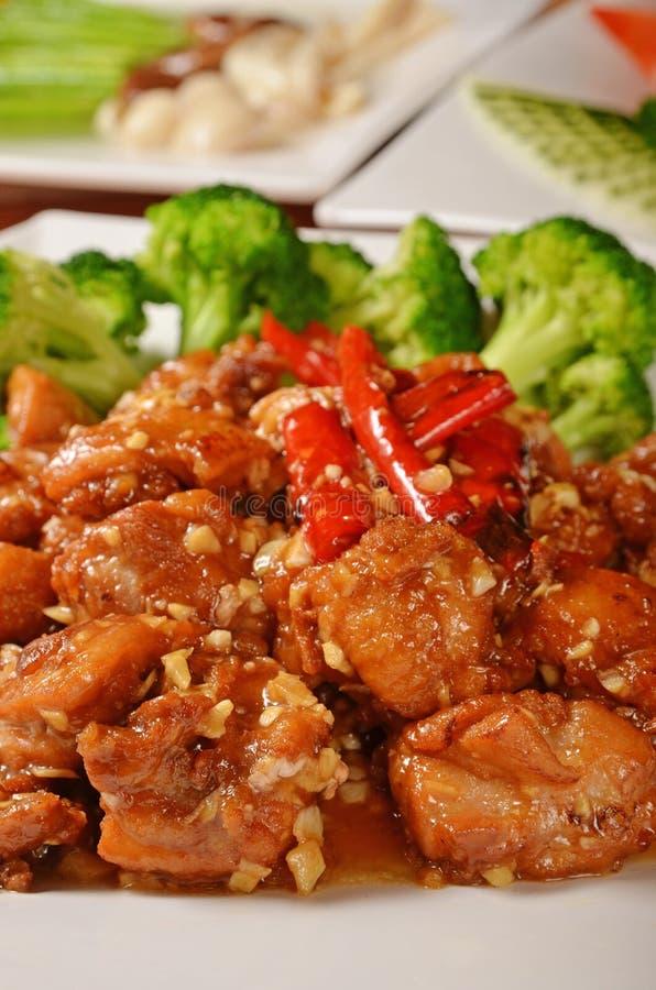 General Tso's chicken royalty free stock photos